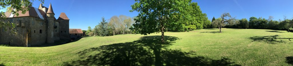 vue panoramique parc Condemine