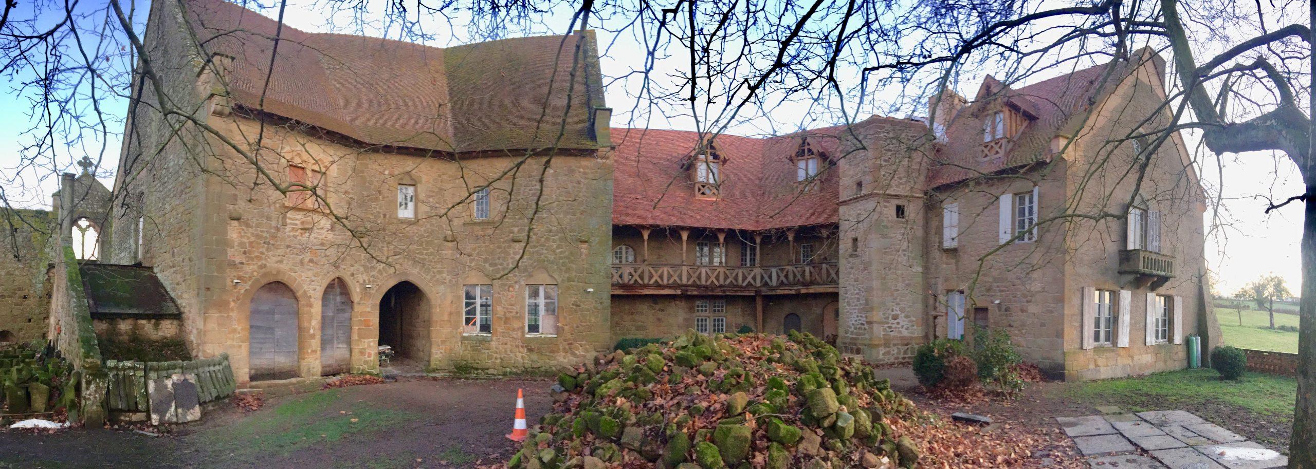 chateau de la condemine allier galerie interieure