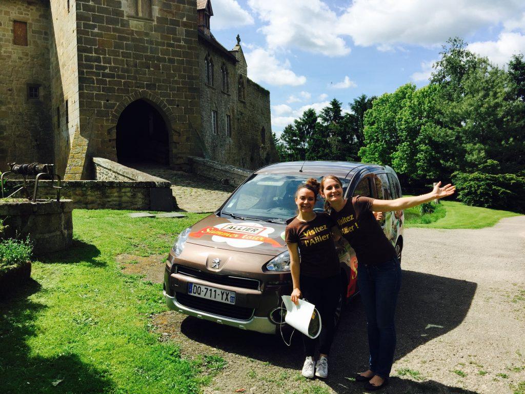 Visite du comité départemental du tourisme de L'Allier