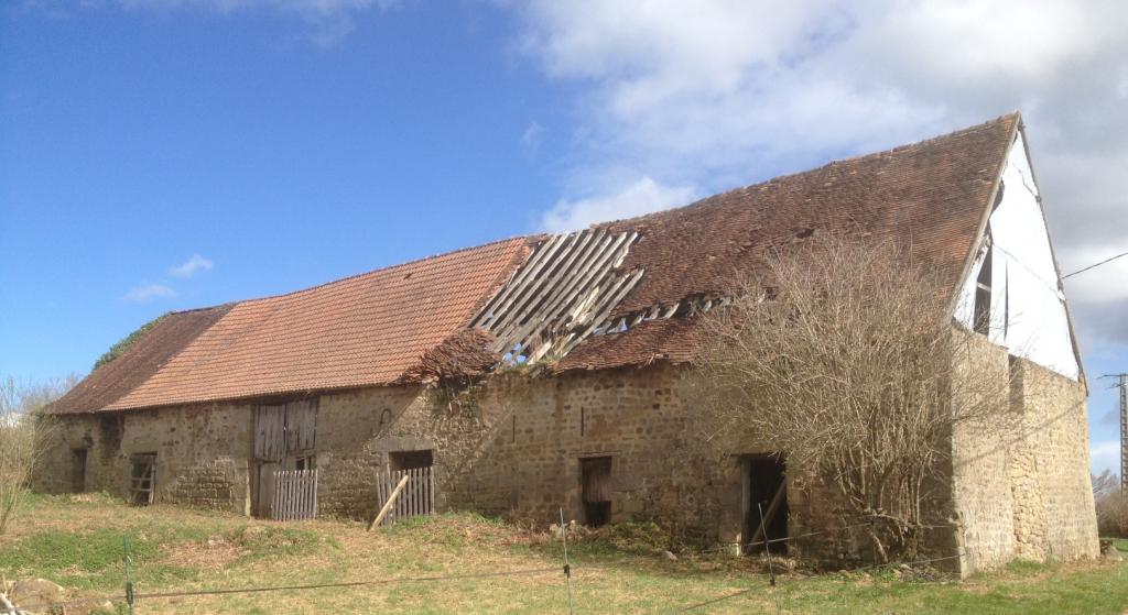Restauration grange biotière Allier Condemine